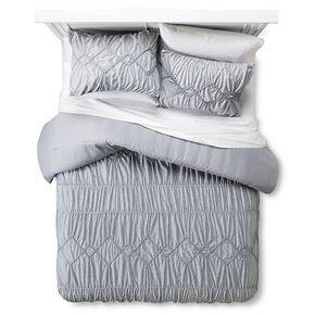 Textured Jersey Comforter Set Gray - Xhilaration™