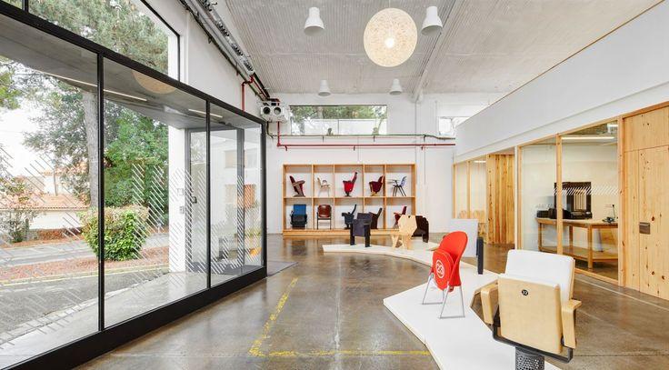 New Design Centre Figueras International Seating by Miriam Castells Studio