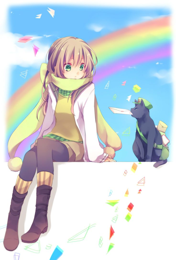 Anime Art: Kemonomimi / Animal Ears / Neko girls | Neko charecters ...
