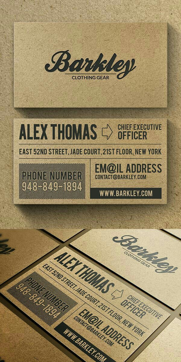 29 best Business Card Design Ispiration images on Pinterest ...