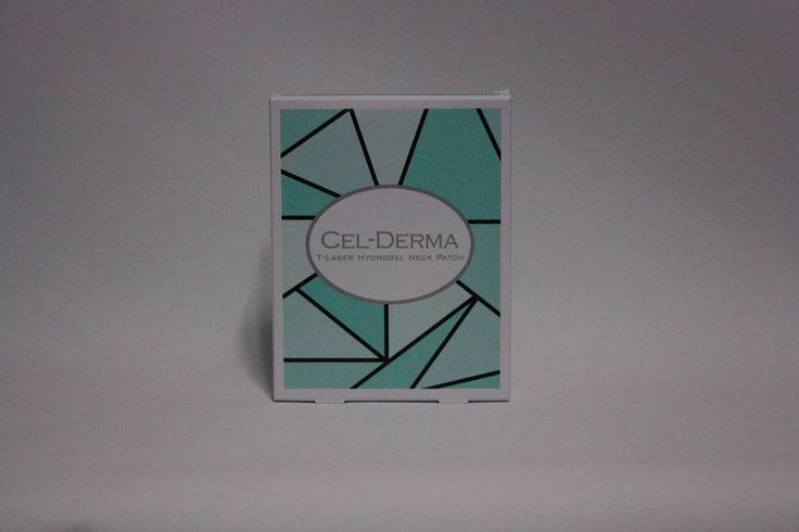 CEL-DERMA  T-Laser Hydrogel Neck Patch 3pcs Mask Pack Neck Mask Anti-Wrinkle