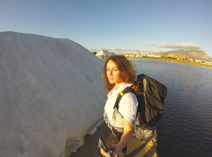 Chiara Magi - Sicilian Vibes - In the salt ponds of Trapani