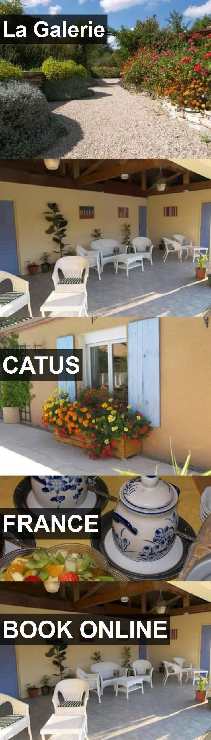 Hotel La Galerie in Catus, France. For more information, photos, reviews and best prices please follow the link. #France #Catus #travel #vacation #hotel
