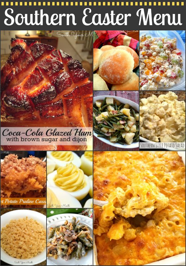 Southern Easter Dinner Recipes With Coca Cola Glazed Ham And Ten Side Dish
