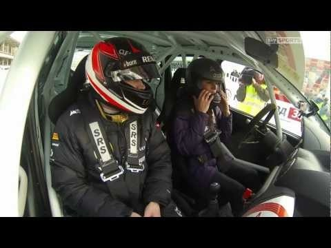 A lesson on how to drive on ice... Kimi Raikkonen style... | I love his laughs!!