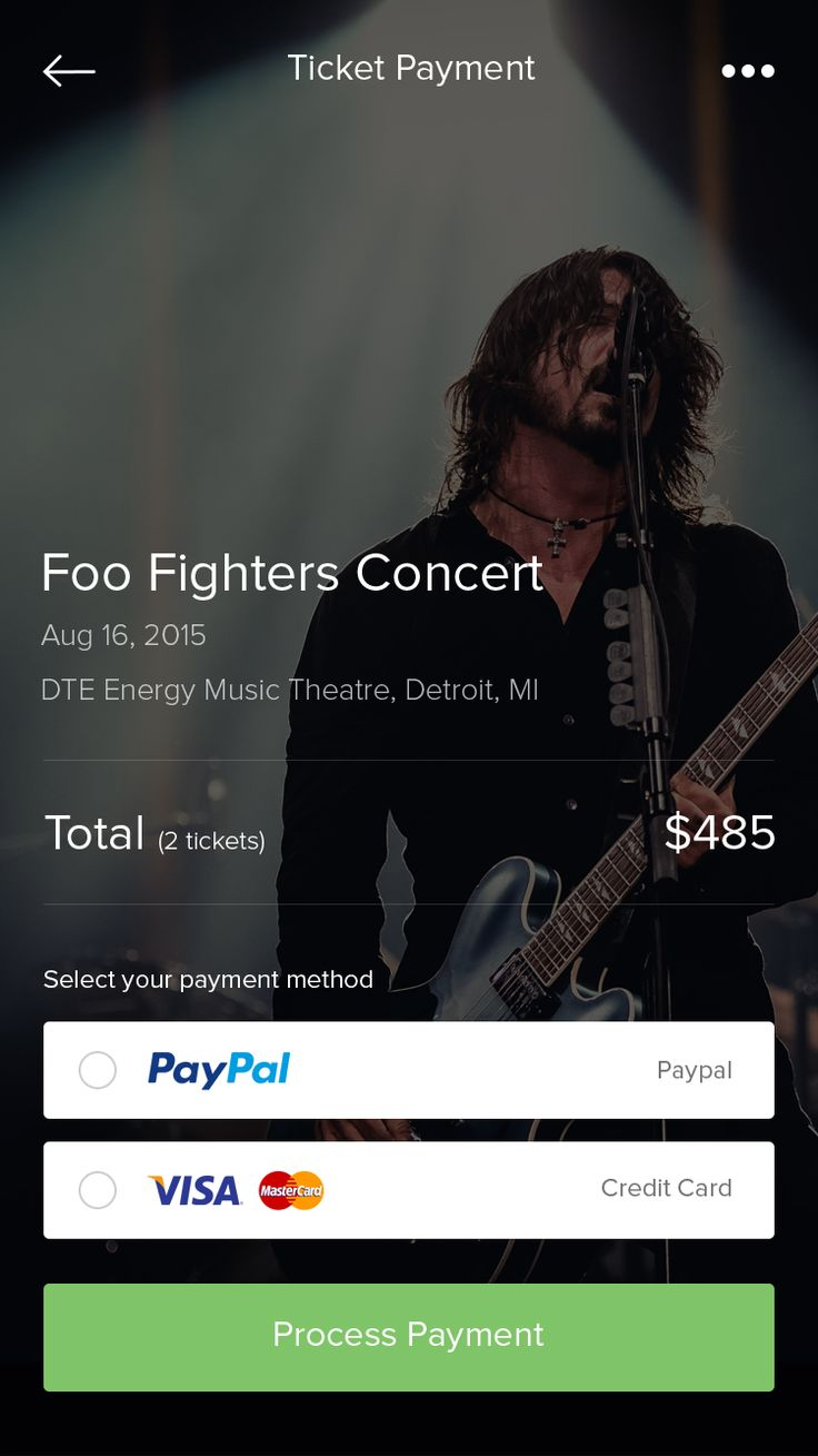 Ticket Payment