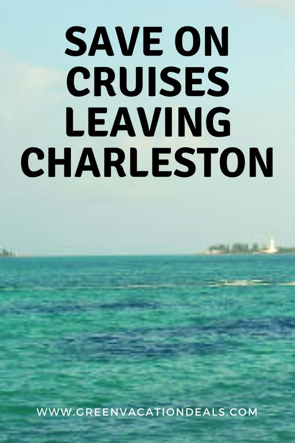 Save money on your cruise out of Charleston South Carolina. Great deals on cruises out of Charleston. Find out the best cruises to take, how to get great prices and where to stay if you're flying into Charleston. #Charleston #SouthCarolina #Travel #SCtravel #cruises