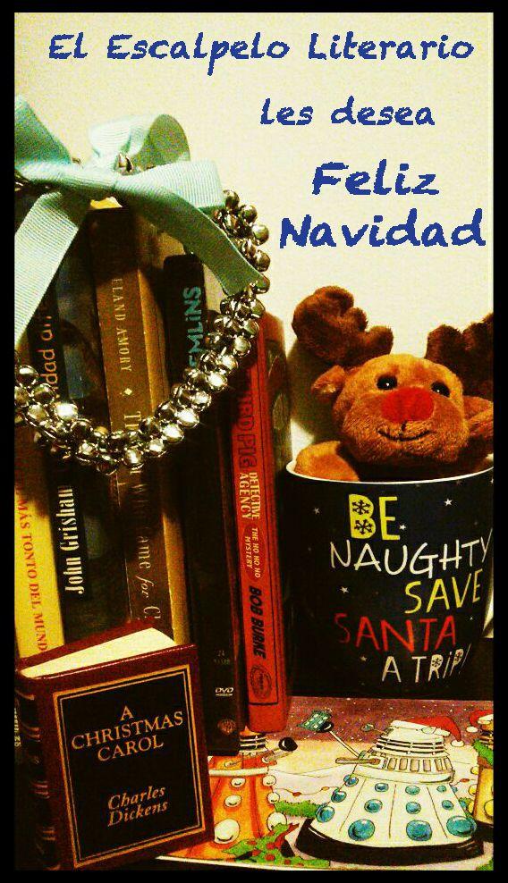 El Escalpelo Literario Les Desea Feliz Navidad
