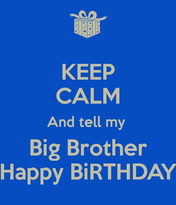 Happy Birthday Bro!