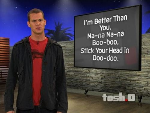 Daniel Tosh brings joy to my soul