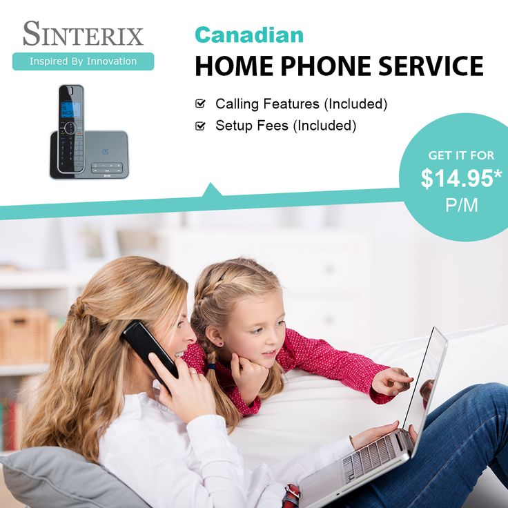Get Latest Technology Home Phone Service at Low Prices. Shorten Your #Home #Phone #Bills with #Sinertix. We offer best home #phoneservices at just $14.95/month including setup fees. For detailed Information, Visit 🌐 http://www.sinterix.ca/Home-Phone.html or talk to our experts at ☎️+(647) 793 8258