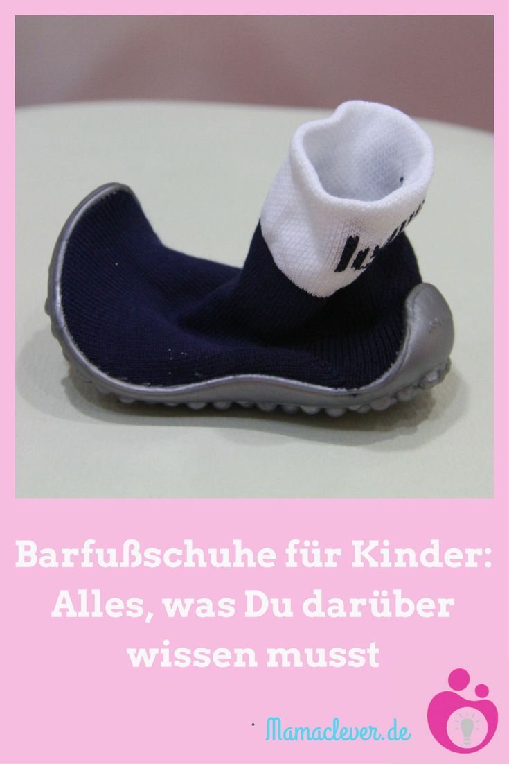 Barfußschuhe für Kinder sind der neueste Trend in den Kinderschuhgeschäften. Dabei handelt es sich um Schuhe  mit extrem flexibler und dünner Sohle, die das Gefühl beim Barfußlaufen imitieren sollen. Mamaclever hat recherchiert, ob solche Schuhe für Kinder wirklich Sinn machen.