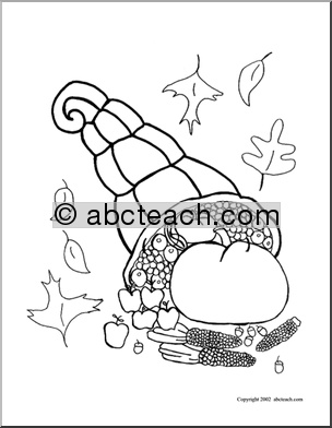 Fun Activities: Thanksgiving Coloring Pages, Theme Units, Printables, Worksheets for Kids | abcteach
