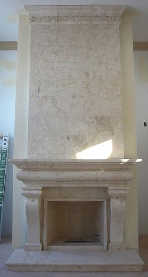 Fireplace French 36 Marble Fireplace Overmantels