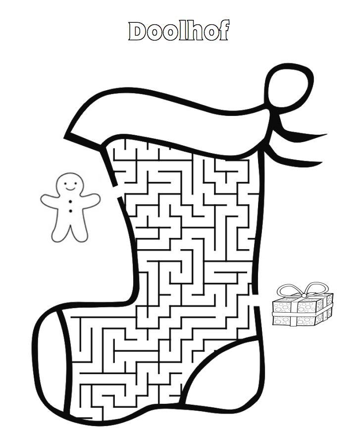 Kerst Doolhof