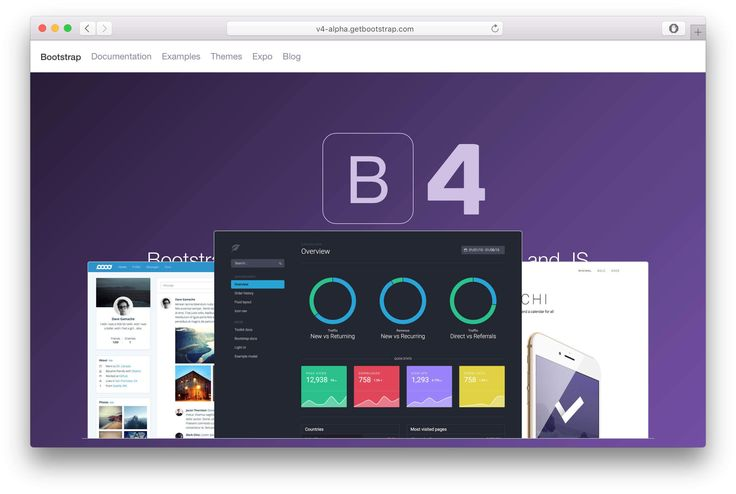 Bootstrap+4:+New+&+Wow+Features