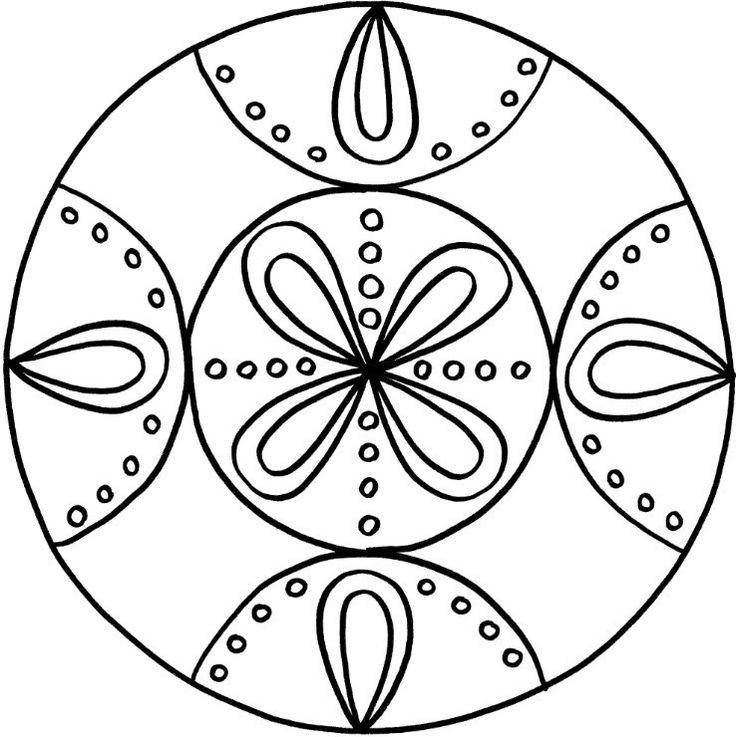 12 besten Mandala Vorlagen Bilder auf Pinterest | Mandala vorlagen ...