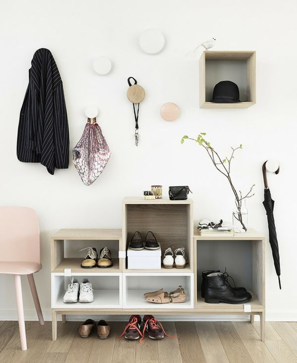 80 best Décoration hall du0027entrée images on Pinterest Coat storage - meuble vide poche design