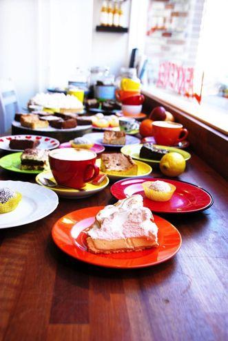 Børnevenlig cafe