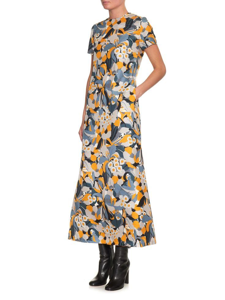 Margherita silk maxi dress | La DoubleJ Editions | MATCHESFASHION.COM UK