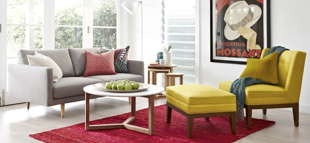 Furniture | Freedom Furniture and Homewares - cant decide if i want that lemon grass chair  ottoman or not