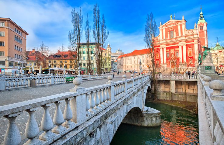 City centre of Ljubljana