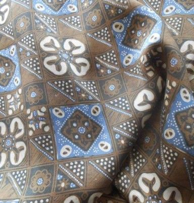 Natural Color Silk Batik – Slobok Motif