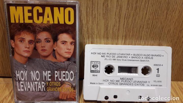 MECANO. HOY NO ME PUEDO LEVANTAR Y OTROS GRANDES ÉXITOS. MC / CBS-SONY - 1991 / LUJO.