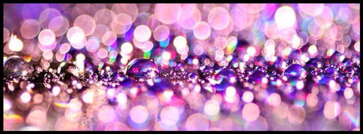 purple sparkles, facebook timeline cover photo