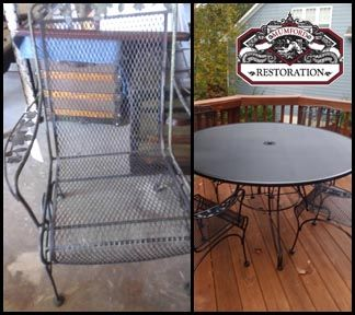 Charming Why Replace Your Old Patio Furniture? Mumford Restoration Of Raleigh, NC  Provides Quality Outdoor Furniture Repair U0026 Restoration.