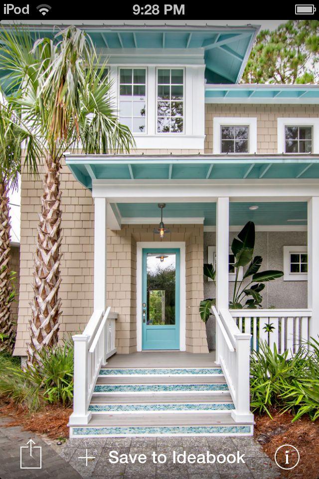 pleasurable exterior beach house colors. Beach home 43 best tropical exterior colors images on Pinterest  homes