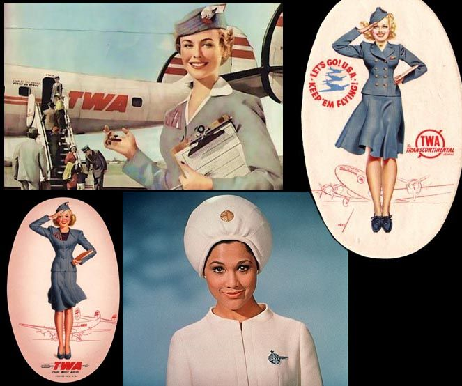 Loved being a flight attendant but I bet back in the 50's it would have been pretty fun