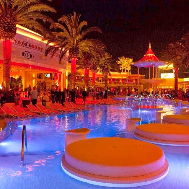 Encore Beach Club in Las Vegas has the best night pool parties in the world. Reserve a cabana at TheVegasGuestList.com or text 702.706.6855 for more info.