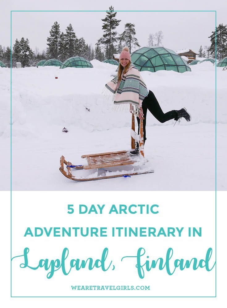 5 DAY ARCTIC ADVENTURE ITINERARY IN LAPLAND, FINLAND  Earlier this year I took a trip to Lapland, Northern Finland with three girlfriends to stay at the Kakslauttanen Arctic Village and the Arctic Snow Hotel. Earlier this year, I wrote a post about the igloos at Kakslauttanen and since then I've had so many questions about this trip regarding the costs and how to plan it, that I decided to share my 5 day itinerary, plus advice and a detailed price breakdown of the trip. Whilst you can always…
