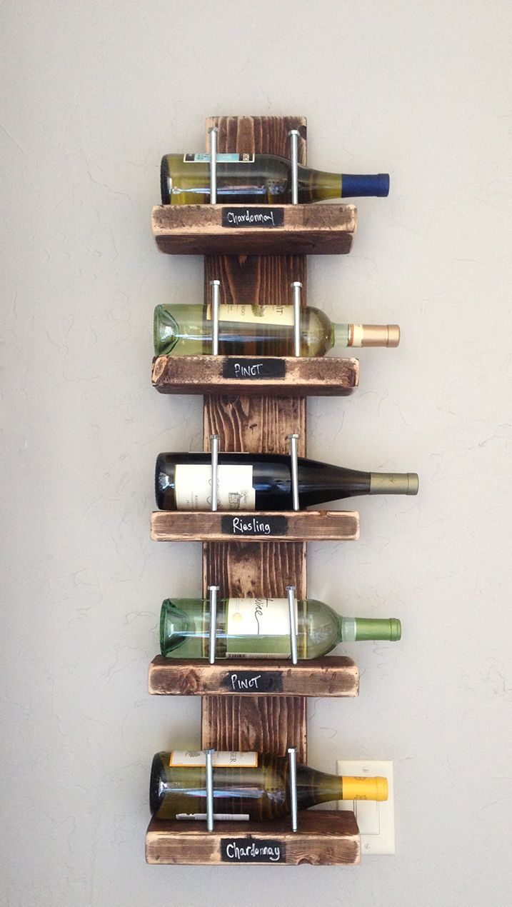 DIY Wine Rack - Rust-Oleum Wood Stain