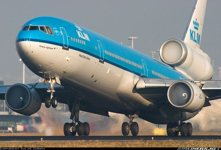 KLM - Royal Dutch Airlines PH-KCD McDonnell Douglas MD-11 aircraft picture