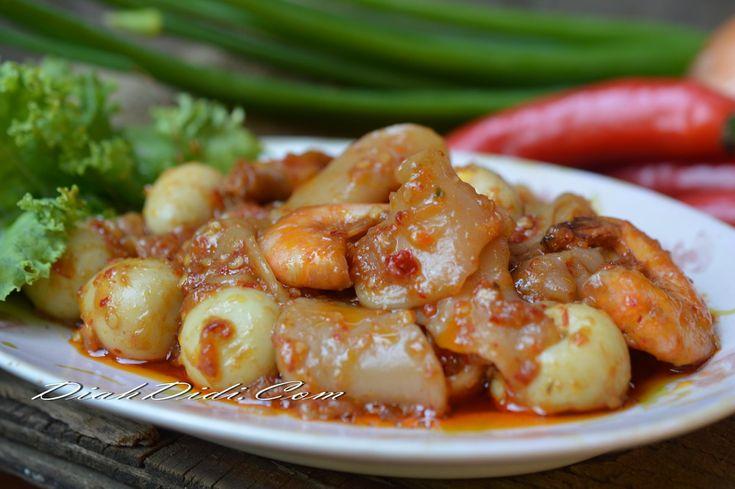 Diah Didi's Kitchen: Seblak Basah Udang & Telur Puyuh