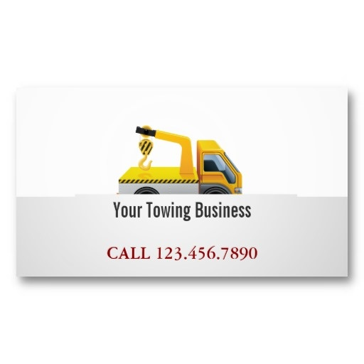 1000 images about Tow Truck Business Cards on Pinterest