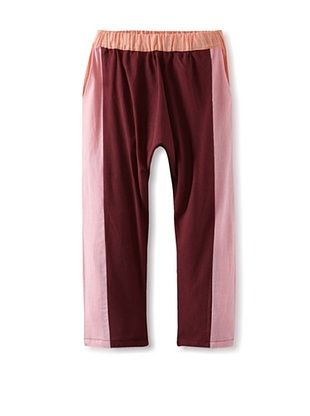 73% OFF Peas And Queues Girl's Tara Harem Pant (Burgundy/Pink)