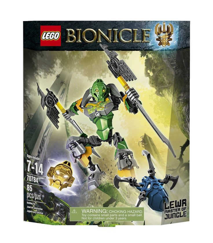 Amazon.com: LEGO Bionicle Lewa - Master of Jungle Toy: Toys & Games
