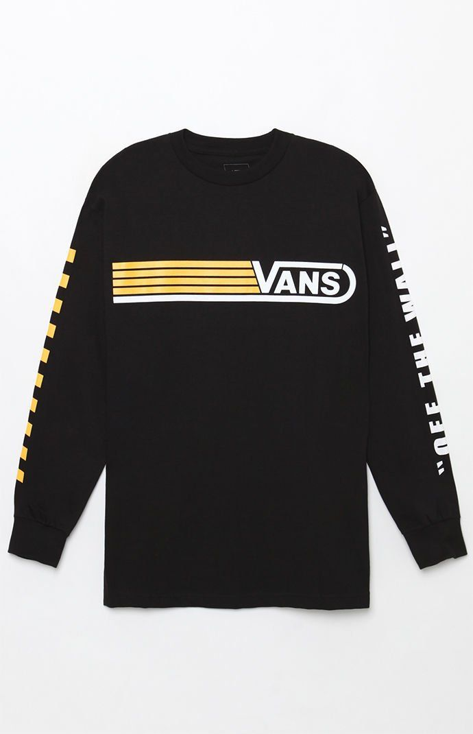00761a9a Vans Line Up Long Sleeve T-Shirt | PacSun | Graphic Tee in 2019 ...