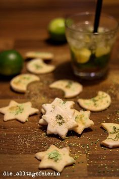 Caipirina-Plätzchen, aus dem einfachsten Butterplätzchenteig der Welt Weihnachten, Plätzchen, Caipi, Butterplätzchen, backen, Weihnachtensbäckerei, Ausstecher