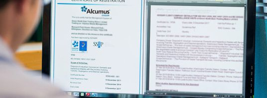 The ISO 14001 certification assistance is provided by Alcumus in UK and the areas in close proximity.