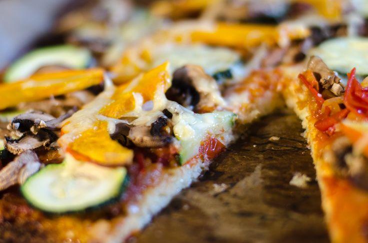 Blomkålspizza – sundt og nemt