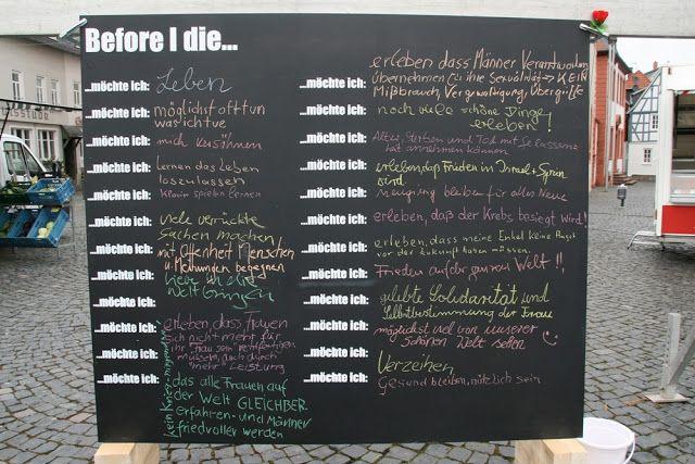Grimmskram: Before I die
