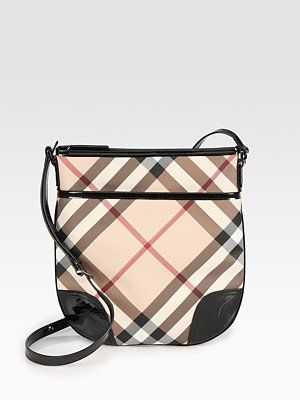 Burberry Crossbody Bag - if I had $550 to blow on a purse, I would get this.