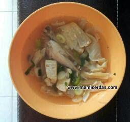 Resep Mudah Praktis Sup Ayam Kembang Tahu ~ Resep Inova Melisa