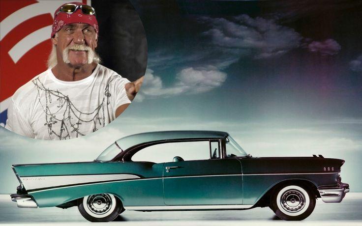 10 – Chevrolet Bel-Air 1957 de Hulk Hogan. Un beau cadeau qu'il a reçu pour son 40e anniversaire. - Galerie, photo 1/10 - Le Guide de l'Auto