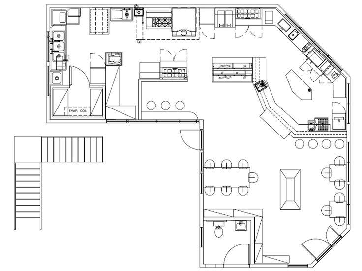 Kitchen Design Drawings the 41 best images about Интерьеры в коммерческих помещениях on