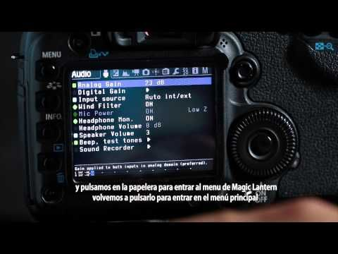 Magic Lantern RAW VIDEO ACTIVATION (for Canon 5D2) Tutorial 1 - YouTube